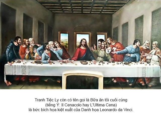 Tranh Tiệc Ly 12 Thánh Tông đồ là những ai 02