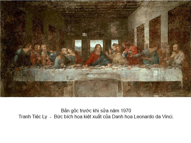 Tranh Tiệc Ly 12 Thánh Tông đồ là những ai