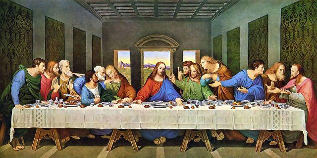 Tranh Tiệc Ly - 12 Thánh Tông Đồ là những ai ? 05