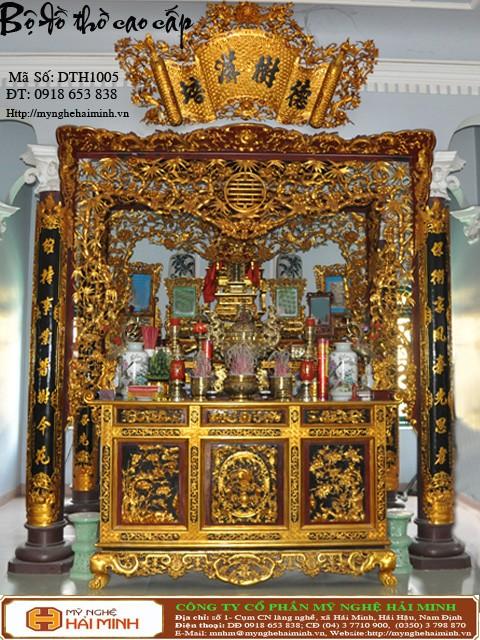 Kích thước bàn thờ Gia Tiên hợp phong thủy tâm linh  17