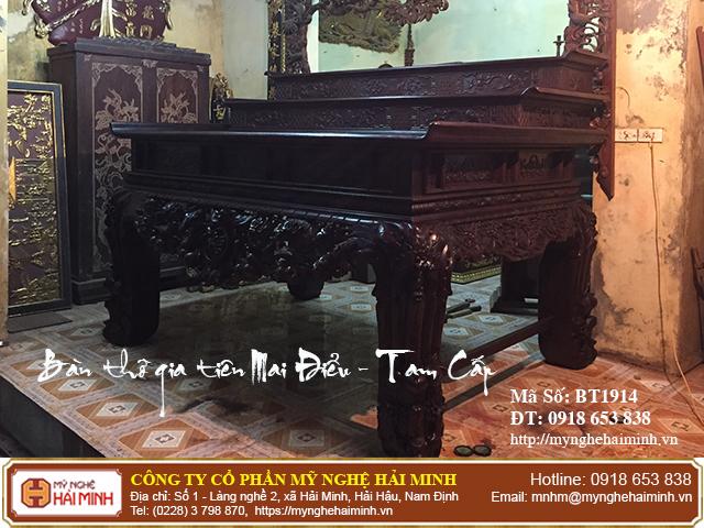 Kích thước bàn thờ Gia Tiên hợp phong thủy tâm linh  09