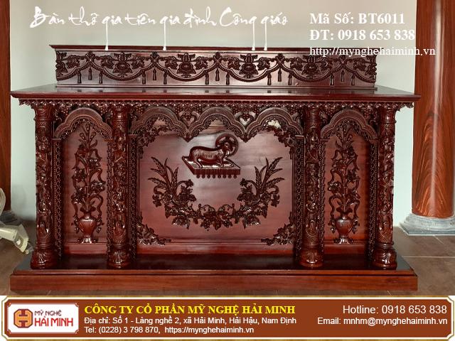 Cách sắp xếp Tượng trên bàn thờ Thiên Chúa tại gia đình 10