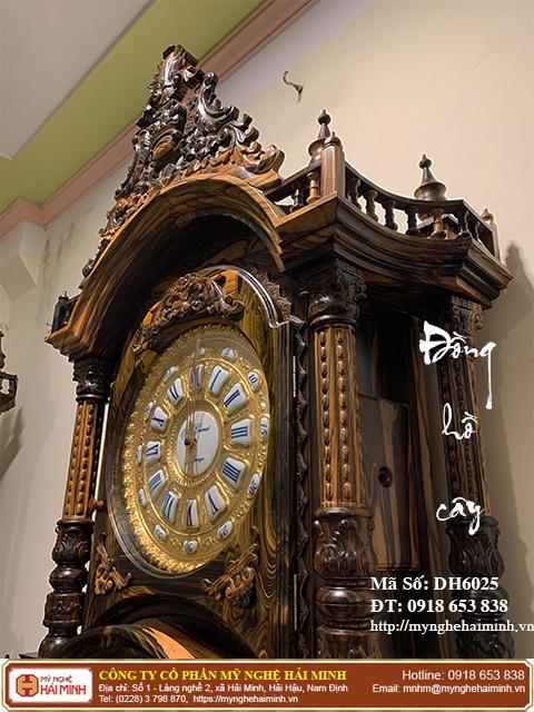 Đồng hồ cây quả tạ - Mã số: DH6025